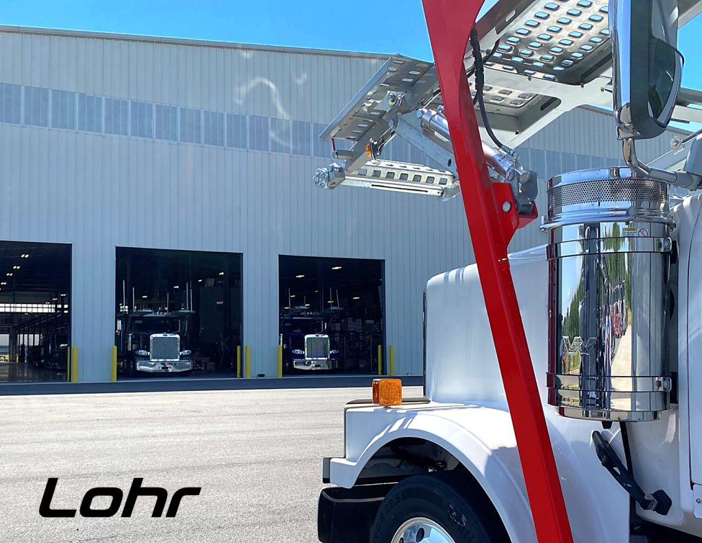 Lohr North America resumes production